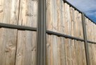 Westcourt Lap and cap timber fencing 2